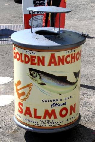 Astoria Salmon Trashcan