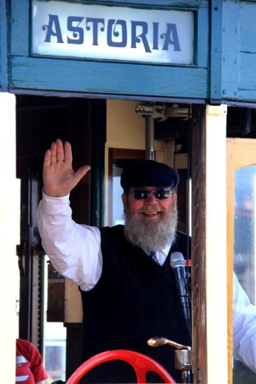 Astoria Trolley Conductor