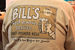 July 8, 2013 - Beer Removal Service