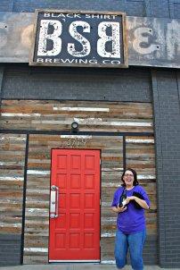 Karen at Black Shirt Brewing