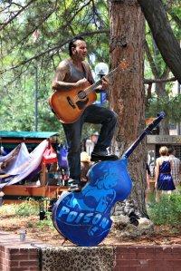 July 13, 2013 - Boulder Busking Bass Man
