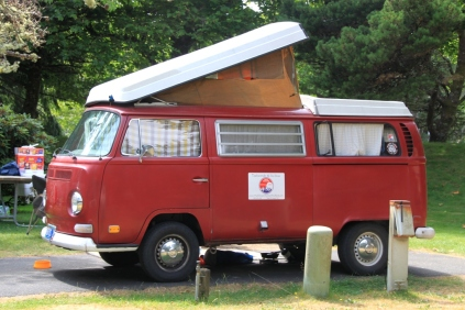 Cannon Beach Camper Bus