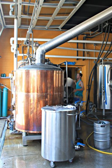 Denver Beer Co. Brew Kettle
