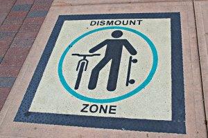 July 16, 2013 - Dismount Zone