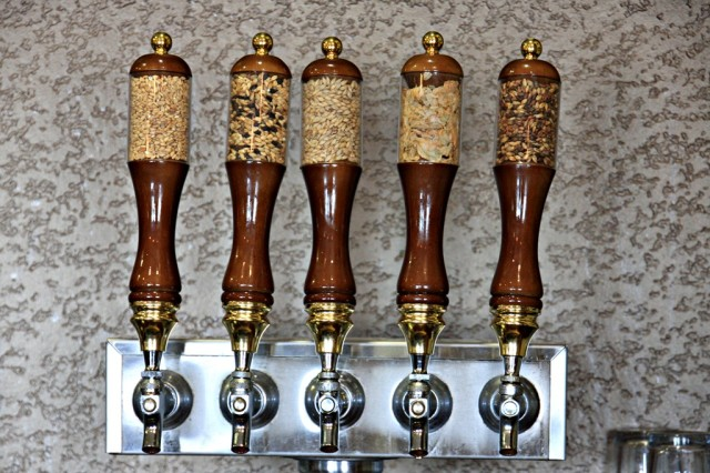 October 18, 2013 - All Grain Tap Handles