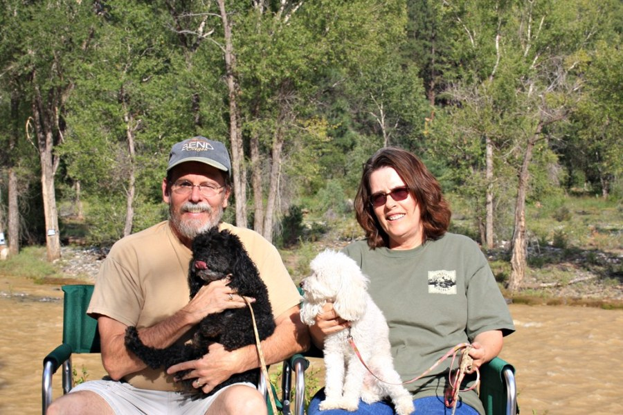 Family Portrait Animas River