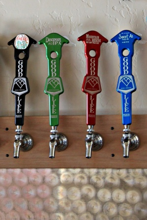 Good Life Brewing Taps