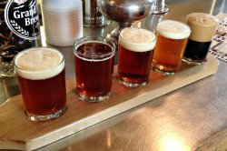 Grand Teton Brewing Flight