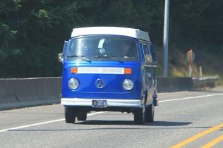 Highway 26 Bus Blue