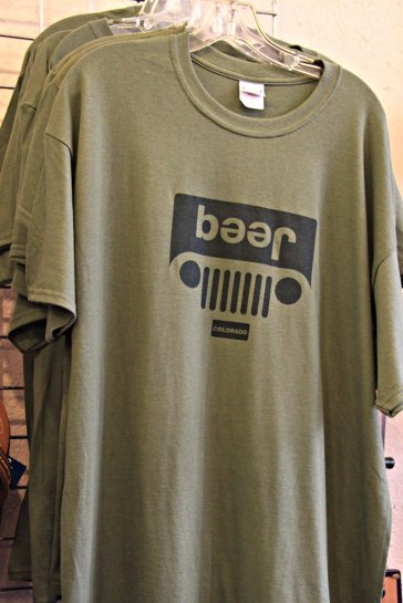 Jeep Shirt (Don't believe it)