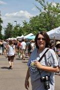 Karen at Boulder Farmers Market