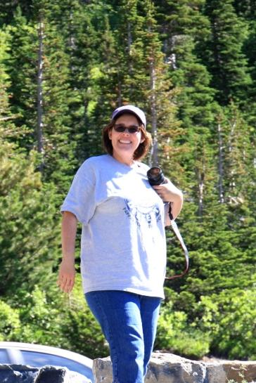 Karen at Glacier
