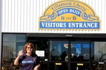 Karen at Tillamook Cheese