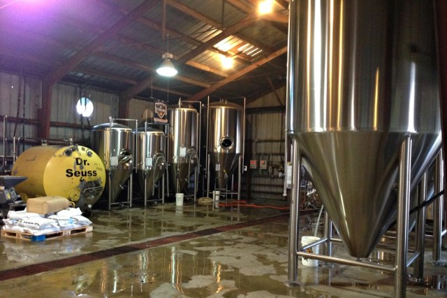 September 27, 2013 - No Label Brewing, Katy, Texas