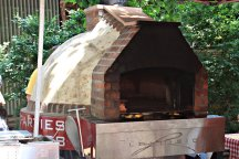 Farmers Market Pizza Oven