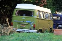 Green Camper Bus