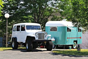 July 4, 2013 - 1938 Pierce Arrow Vintage Trailer