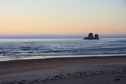Rockaway Beach Twin Rocks