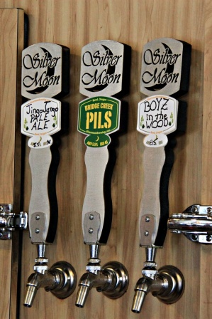 Silver Moon Brewing Taps