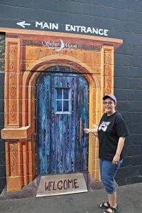 August 9, 2013 - Entrance Around Corner