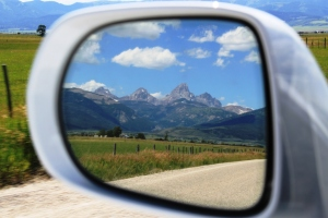 July 18, 2012 - Reflection of the Tetons