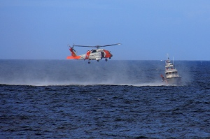 August 23, 2012 - Coast Guard Maneuvers