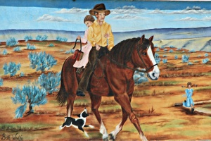 September 8, 2012 - Vale Oregon Mural
