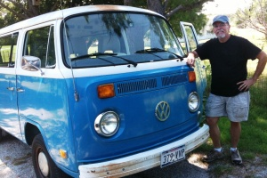 June 30, 2012 - Davids new 1974 VW bus