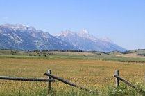 Tetons from Wilson, WY