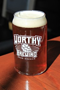 Worthy Beer Can Glass