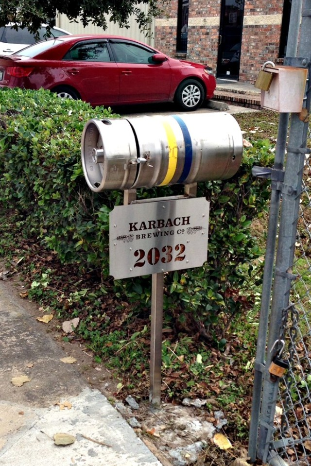 December 28, 2013 - Karbach Mail Box