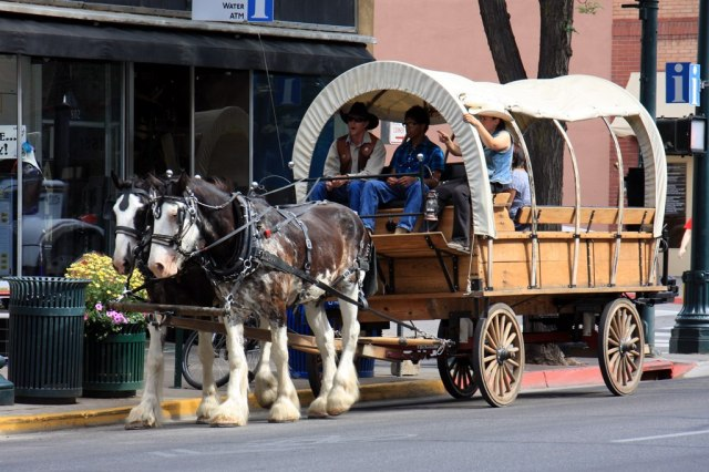 July 10, 2014 - Covered Wagon