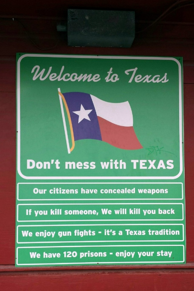 July 3, 2014 - Don't Mess With Texas