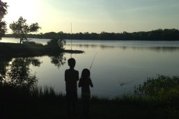 Grandkids Fishing