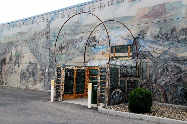 July 13, 2014 - Vale, Oregon, Mural